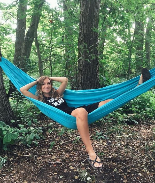 Сандра Насич любит отдыхать на свежем воздухе
