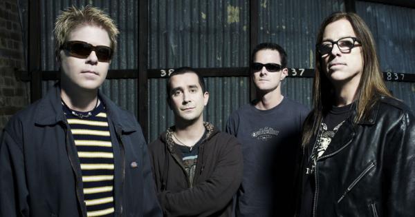 На фото: группа The Offspring