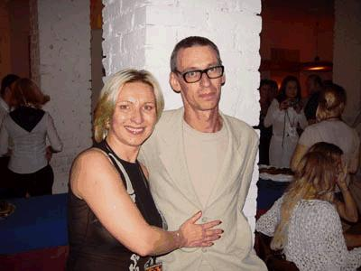 Кристиан Лоренц с женой